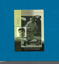 2000 Upper Deck Defining Moments Babe Ruth New York Yankees #DM3