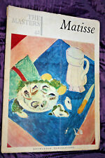 THE MASTERS - MATISSE #42 Knowlege Publications 1966