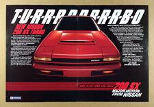 1984 Nissan 200SX Turbo vintage print Ad