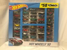 Hot Wheels 50 Pack Collection of Toy Cars NEW Gift Value Pack