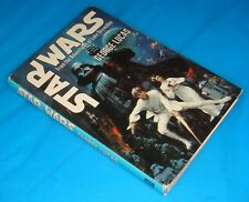STAR WARS by George Lucas HB BK BC Del Rey 1976 VF  16 pgs Color Photos