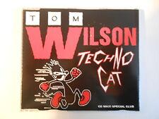 "TOM WILSON : TECHNO CAT (12"" DANCE MIX 7.37) - [ CD-MAXI - PORT 0€ ]"