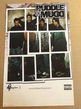 PUDDLE OF MUDD Rare 2001 PROMO POSTER for Come Clean CD USA NEVER DISPLAYED MINT