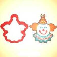 Clown Face Cookie Cutter 3.75 in PC0354 - By CookieCutter.Com - USA Made