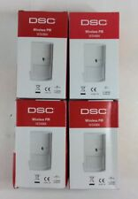 4 LOT DSC WS4904P SECURITY WIRELESS PIR MOTION ALARM SENSORS 60 LBS PET IMMUNITY