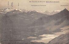 3891) VUE PRISE DU MIRAVIDI (AOSTA) PETIT SAINT BERNARD. VIAGGIATA NEL 1922.