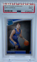 Luka Doncic 2018 19 Panini Donruss #177 Mavericks rated rookie RC PSA 9⬆️