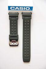 CASIO New Original Watch Band G-Shock Mudman G-9000 Green Rubber Strap G-9000-3