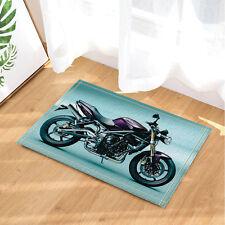 Motorcycle Bath Bathroom Bedroom Floor Shower Mat Rug Non-slip Absorbent doormat