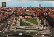 ANTIGUA POSTAL DE MADRID PLAZA COLON . GOYA Y SERRANO  . MAS EN MI TIENDA CC1551