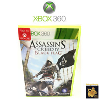 Assassin's Creed 4 Black Flag 2013 Xbox 360 Game Case Disc Tested Works