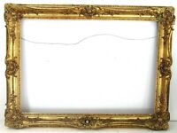 ANTIQUE  19 c  GREAT QUALITY GILT FRAME FOR PAINTING  32 1/2  x  22 1/2   (m-1)