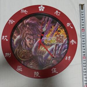 Hanano Keiji wall clock Kanji red jump samurai Sengoku