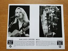 BR5-49 / MARY CHAPIN CARPENTER Austin City Limits 8x10 BLACK WHITE Press Photo