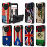 For Galaxy S8 ACTIVE Hybrid Action Armor Protector Cover FLAG Image Case