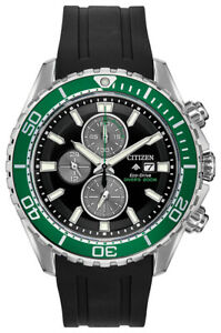 Citizen Eco-Drive Promaster Diver Men's Chronograph 46mm Watch CA0715-03E