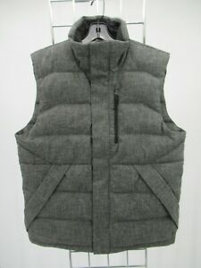 K1571 The North Face Men's Full-Zip Puffer Down Vest Size M