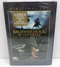 The Brotherhood of the Wolf (DVD, 2008, 2-Disc Set) Le Pacte Des Loups NOS TORN*