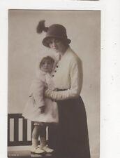 Gladys Cooper Actress & Daughter Vintage RP Postcard 531a