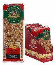 Greek Cyprus Amalia Peanut Brittle Pastellaki 6 packs x 65g