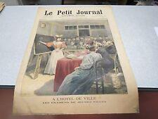 LE PETIT JOURNAL SUPPLEMENT ILLUSTRE N 245 1895 A L HOTEL DE VILLE