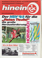 BL 93/94 1. FC Kaiserslautern - Hamburger SV