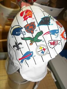 NFL Team All Over Logos Infant Beanie Hat Cap 49ers Chiefs Baby 6-12 months LIV