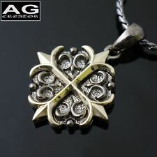"Gothic cross S pattern pendant with 19"" chain necklace US SELLER"