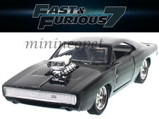 JADA 97042 FAST AND FURIOUS 7 DOM'S 1970 70 DODGE CHARGER R/T 1/32 DIECAST BLACK