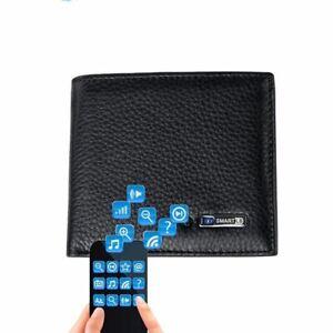 Smart Wallet Men Genuine Leather High Quality Anti Lost Intelligent Bluetooth Pu