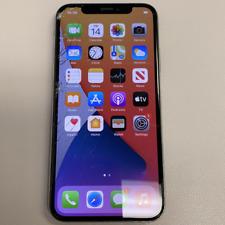 Apple iPhone X - 256GB - Silver (Unlocked) (Read Description) CA1087