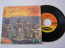 EP 4 TITRES VINYLE 45 T , THE SPOTNICKS , ORANGE BLOSSOM SPECIAL . G +  / VG -