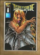Darkchylde Wizard 1/2 half vfn/nm 1997 signed Randy Queen Image Comics scarce