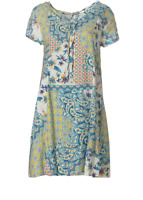 LABEL OF LOVE NEW WITH TAGS MUSE PRINT DRESS SIZE 14 RRP $99.95