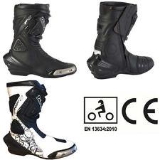 Diora Women's Microfibre Upper Motorcycle Boots