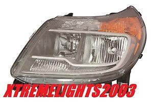 DODGE RAM PROMASTER 2014-2016 LEFT DRIVER HEADLIGHT HEAD LAMP LIGHT WITH DRL