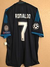 Spain Real Madrid Adizero Ronaldo Uefa Adidas Player Issue Shirt Football XXL