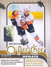 2009-10 (2010) O-Pee-Chee (OPC) Hockey 200 Card Factory Update Box Set