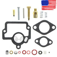 Carburetor Repair Rebuild Kit for International Farmall IH H O4 W4 I4 HV Tractor