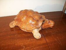 Vintage turtle jewelry box From Asia wood