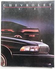 V13793 CHEVROLET 1991 - CATALOGUE - 23x28