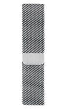 Genuine Apple Milanese Loop Stainless Steel 42mm 44mm Silver Band Strap Bracelet