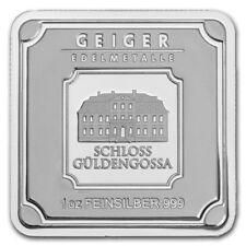 Lingot 1 Once Argent pur 999 Neuf / GEIGER Edelmetalle 1 Oz Fine Silver 999 Bar