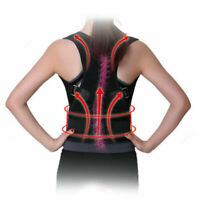 Magnetic Therapy Posture Corrector Body Pain Brace Shoulder Support Belt Wrap