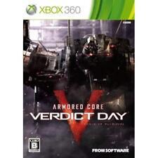 Xbox360 ARMORED CORE VERDICT DAY Japan Import