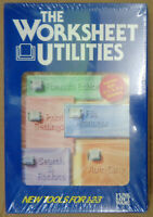 The Worksheet Utilities by Funk Software - 1987 - BRAND NEW, SEALED. 3.5 & 5 1/4