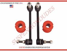 4PC Front Sway Bar Links AND BUSHINGS FOR Chrysler 300 Dodge Challenger Charger