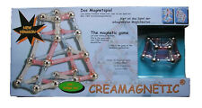 Magnetspiel Creamagnetic 104 Teile Magnetset Baukasten Magnet Magnetspielzeug