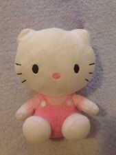 Hello Kitty 2012 TY Sanrio Red Overalls  6 inch Plush