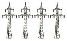 HO Scale Buildings - 38533 - Deco-set Power pole, 4 pieces  - Kit